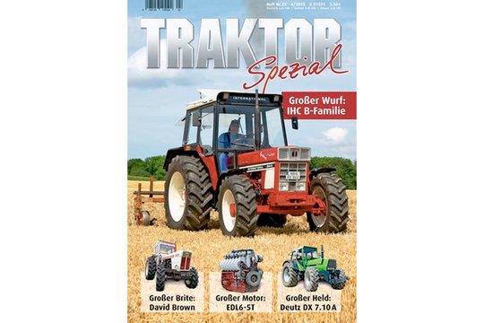 """10.-14. Preis 2020: Je ein Jahresabonnement """"Traktor Spezial"""""""