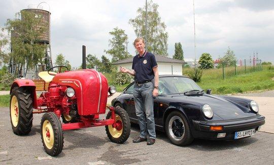 Rallyeikone Walter Röhrl über den Porsche Preis der Schlepperspendenaktion